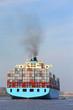Containerschiff läuft aus - 52237457