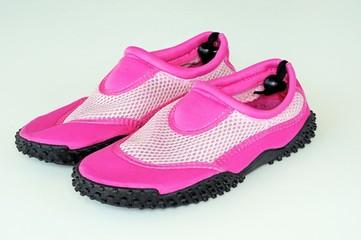 Pink beach shoes © Arena Photo UK