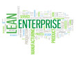 LEAN ENTERPRISE Tag Cloud (process improvement quality business)
