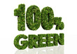 one hundred percent green