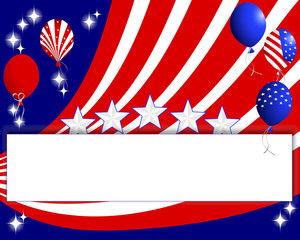 Background for the U.S. national holidays.