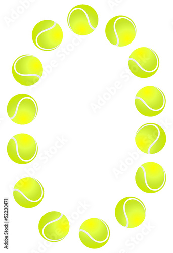 Tennis Ball Set Number 0