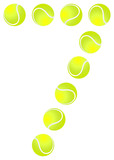 Tennis Ball Set Number 7