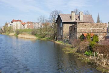 old riverside of Gdansk