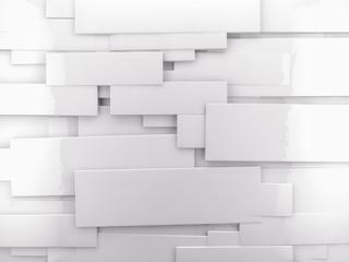 fondo arquitectura abstracta.Pared brillante con cubos