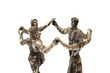 people dancing Sardana statue