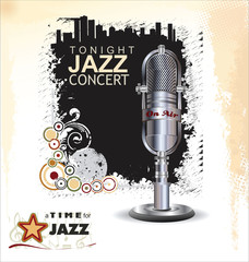 Music background - jazz concert