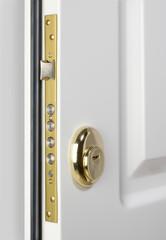 Wooden doors with lock 2