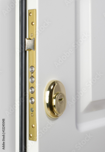 Wooden doors with lock 2
