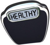 Healthy Word Scale Wellness Health Care Lose Weight
