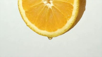 オレンジの果汁