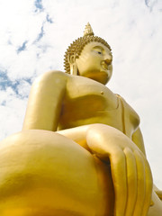 The world largest Buddha statue