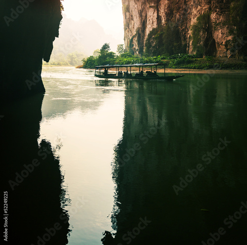 Fototapeten,cave,urwald,landschaft,silhouette
