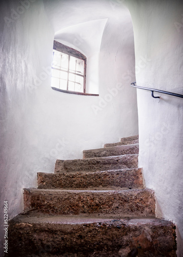 old staircase - 52249664