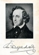 Portrait of german composer Mendelssohn