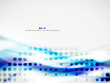 Wave abstract design template