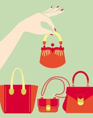choosing bag