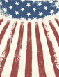 American flag themed background. Vector