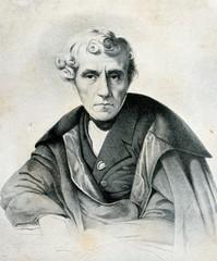 Portrait of italian composer Luigi Cherubini