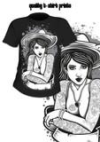 T-Shirt Print Tattoo Mädchen