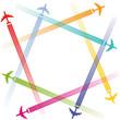 Flugzeug Symbol
