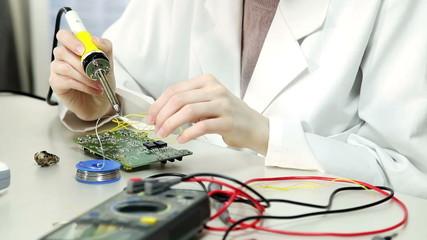 Laboratory of electronics