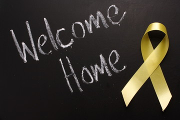Welcome Home with a Yellow Ribbon
