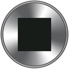 Bottone metallico stop
