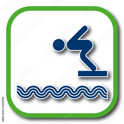 swimming pool icon
