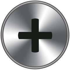 Bottone metallico +