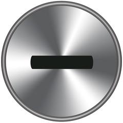 Bottone metallico -