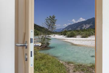 Tür ins freie © Matthias Buehner