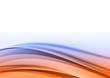 blue and orange lines