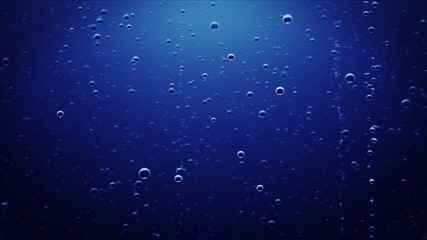 underwater bubbles