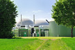 Leinwanddruck Bild - Bio fuel plant.