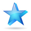 Glass vector star