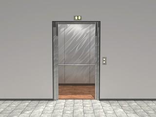 Offener Aufzug