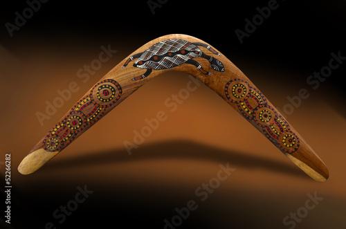 Australischer Bumerang Poster