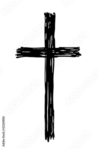 schwarzes Kreuz...Trauer