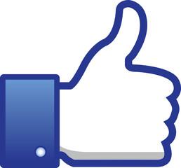 Like, thumb up