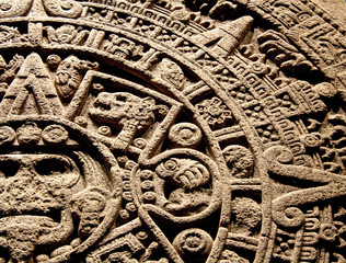 Detalle calendario Azteca 5