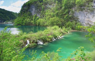Cascades at Plitvice lakes