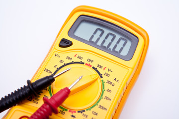 Digital multimeter closeup