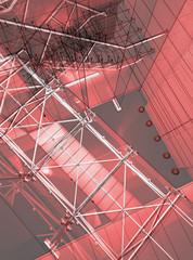 Scala trampolino vertigine architettura progetto