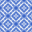Seamless pattern with Mediterranean motifs