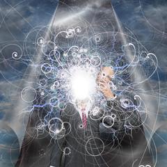 Powereful being reveals true self