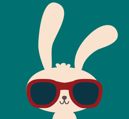 Cute Rabbit - Vector File EPS10
