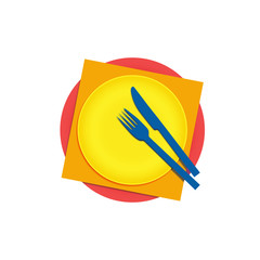 Logo cook, international cuisine # Vector