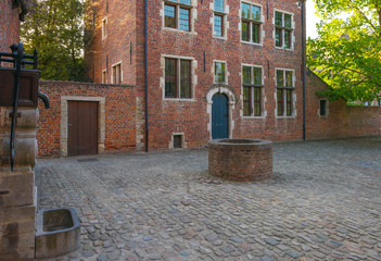 Square in the Grand Beguinage of Leuven