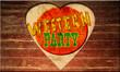 Holzherz - Western Party